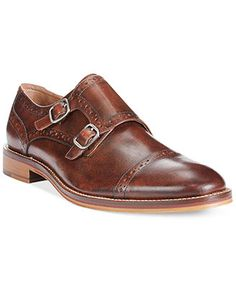 Johnston & Murphy Conard Double Monk Shoes