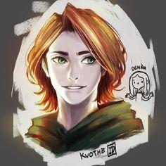 "kingkiller-sketchbook: "" vaguely-yaoi: ""#kvothe from #kingkillerchronicles ! #digitalpainting #izzushiart #fanart "" !!!!!! He's so beautiful I'm crying !!!!!! """