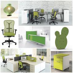 Le vert crée une autre ambiance : plus accueillante, plus reposante, et plus agréable pour votre lieu de travail. 🍃🍃🍃 En effet, une sensation naturelle pleine de fraîcheur nous rend plus zen. 🌿🌿🌿 De plus, cette nuance est associée à la santé. Donc, le vert correspond parfaitement aux entreprises dans les secteurs du bien-être et de l'écologie. 🌳🌳🌳 #BMBureau #moodboard #color #green #furniture  #office #interior #graphic #design #inspiration #creation #eco #health #nature