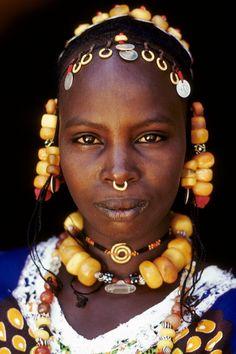 Africa | Fulani woman. Ivory Coast | ©Olivier Martel