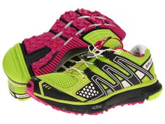 Salomon XR Mission W Organic Green/Black/Fancy Pink - Zappos.com Free Shipping BOTH Ways