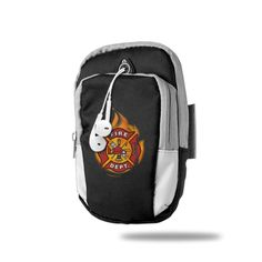 Firefighter Sports Arm Bag/ Armbands, Multifunctional Pockets ArmBag For Cell Phone - Ideal For Workout, Hiking, Jogging, Gym, Running (7.1 X 3.1 Inches) Black. Material: 100% Polyester ArmBag. Dimensions: 7.1 (180mm) X 3.1 (90mm) X 2.0 (50mm) Inches (H X W X D). Double Pockets Arm Bag Give You A Soft Feelings When You Wear It. Need About 1-3 Weeks Days To Get This Item, Please Ignore The Delivery Date. For Iphone7, 7plus, 6, 6plus, 5, 5s, 5c,Galaxy S7, S6, S5,S4, Note, More Phones And More.