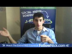 www.FollowNick.com 18. Use facebook applications OFF SITE - Facebook Marketing About Facebook, Free Courses, Facebook Marketing, Social Media, Youtube, Fans, Profile, Posts, Create