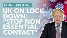 "Johnson's New Coronavirus Plan Explained: ""We Need to go Further"" - TLDR News"