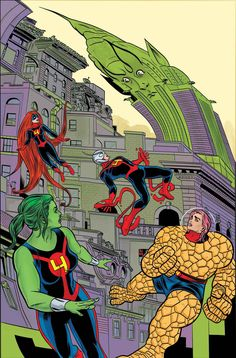 Fantastic Four by Mike Allred