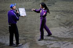 Nicole Johnson Monster Truck Driver | Scooby-Doo driver Nicole Johnson accepts her third award of the night ... Monster Jam, Monster Trucks, Nicole Johnson, Touring, Scooby Doo, Knight, Third, Cavalier, Knights