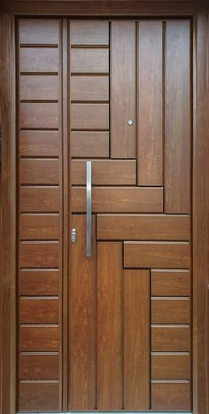 Flush Door Design, Door Gate Design, Room Door Design, Door Design Interior, Wooden Front Door Design, Double Door Design, Wooden Front Doors, Modern Entrance Door, Modern Wooden Doors