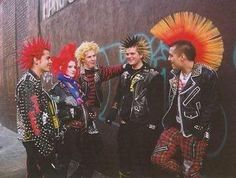 Much is made of the 'bricolage' of late 1970s punk fashion and its supposed representation of resistance, but this style is now outdated, a relic of punk's early days. Description from lukecore.hubpages.com. I searched for this on bing.com/images