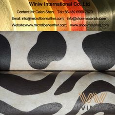 High Quality 100% PU Artificial Leather Fabric That Looks Like Leather