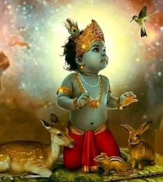 48218306 Pin by Srinithyadurga on Little Krishna