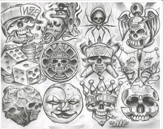 Risultati immagini per chicano tattoo style Boog Tattoo, Chicano Style Tattoo, Chicano Tattoos, Arte Cholo, Cholo Art, Chicano Lettering, Graffiti Lettering, Sketch Tattoo Design, Skull Tattoo Design