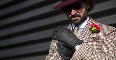 Lo stile inconfondibile dell'influencer e style icon Giorgio Giangiulio - The Style Storyteller a Firenze con noi in occasione di Pitti Uomo