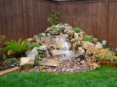 Natural Small Pondless Waterfalls   Advanced Waterscape - Projects Big and Small