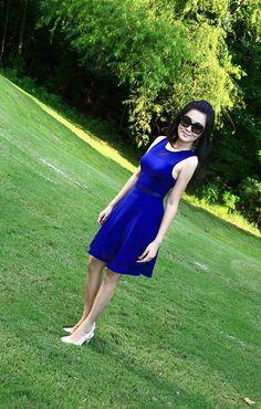 Summer in blue.