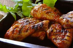 Sweet and Sticky Chutney Chicken