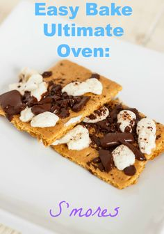 S'mores are a great first choice and creation for your children when it comes to creating their own Easy Bake Oven recipes! Easy Baking Recipes, Oven Recipes, Easy Bake Ultimate Oven, Christmas Snack Mix, Easy Bake Oven Mixes, Oven Diy, Little Chef, Baking With Kids, My Best Recipe