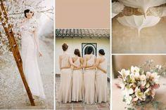 Decoración de boda en toasted almond #Tendencias2015