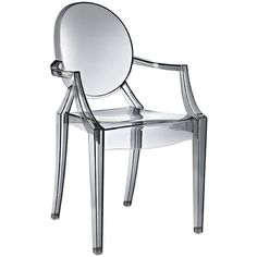 Clear chair - Crystal Clear - 25 Secret Discoveries We Found on Amazon - Photos