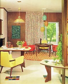 1960s living room