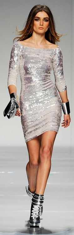 Metallics Ready To Wear from Blumarine :: Fall 2012