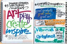 Find more art journaling ideas at ClothPaperScissors.com