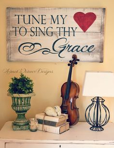 tune my heart to sing thy grace.