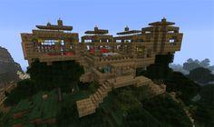 Fun Minecraft Ideas | ... -minecraft-jungle-treehouse-ideas-cool-minecraft-logo-image.png