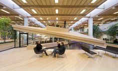 Built by Schmidt Hammer Lassen Architects in , Denmark with date 2009. Images by Adam Mørk. The IBC Innovation Factory by schmidt hammer lassen architects is designed to support new ways of learning.  The 12,8...