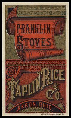 Taplin, Rice & Company   Sheaff : ephemera