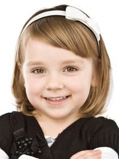 Cute bob with fringe for kids