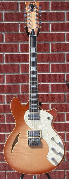 Schecter DIAMOND SERIES TSH-12 Classic Vintage Natural Burst 2013 12-String Electric Guitar