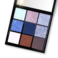 Eyeshadow, Indie Makeup, Calcium Carbonate, Iron Oxide, Saturated Color, Hot Chocolate, Iridescent, Beauty, Eye Shadow