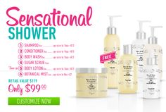 Do you shower? Then you need this Sensational Shower Bundle! All the products you need for a MiAmazing shower experience!! Create your own scent!