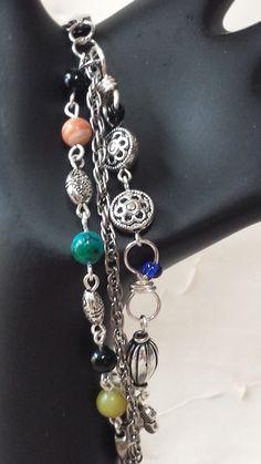 Triple Strand Bracelet by GirlyPossessions on Etsy