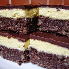 TutiReceptek és hasznos cikkek oldala: Fehér -fekete sütemény Hungarian Recipes, Hungarian Food, Nutella, Food And Drink, Sweets, Dishes, Cookies, Cake, Pies