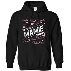 Its a MAMIE Thing - #zip up hoodies #shirt designs. ORDER HERE  => https://www.sunfrog.com/Names/Its-a-MAMIE-Thing-kabdjxrrph-Black-10237671-Hoodie.html?id=60505