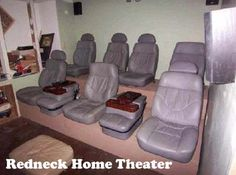 redneck home theater