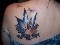 Fairy Tattoos Symbolize Luck Desire Destiny