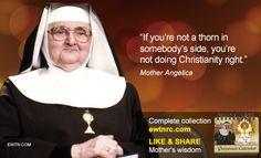 #MotherAngelica #WednesdayWisdom #EWTN #Catholic
