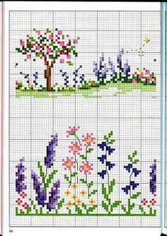 Gallery.ru / Фото #59 - Вышиваем крестом цветы, букеты, деревья - tymannost