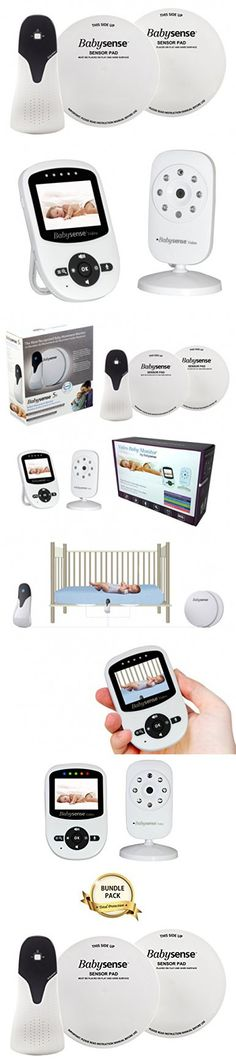 Babysense Video + Movement Monitor BUNDLE PACK: Babysense Video Baby Monitor with Babysense 5s Under-The-Mattress Baby Movement Monitor - 2 in 1