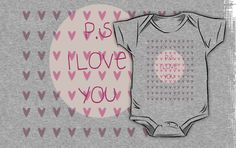P.S I Love You in Pink by Vintageskies