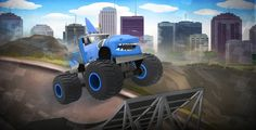 Monster Truck Beast Within enchants you with some new monster trucks and challenging levels. Play it here: http://www.brightestgames.com/games/monster-truck-beast-within.html