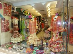 Seville, Spain, I want make these dress for my grand daughters, we will celebrate our own Faria.