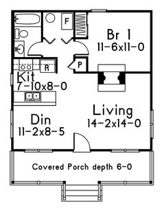 Dogwood Cabin Home Plan 058D-0010 | House Plans and More