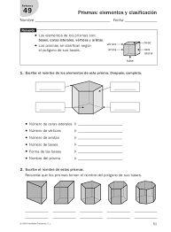 Resultado de imagen para prismas y piramides ejercicios