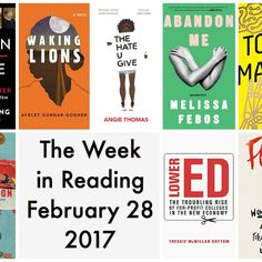 Rounding Up All The Best Books Being Released This Week
