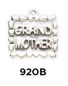 Grandmother Tablet Charm  Sterling Silver Grandmother Tablet Charm www.finegifts.labellabaskets.com