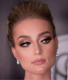 prom makeup - prom makeup - party makeup - wedding makeup - inspiration makeup - step by step makeup Natural Wedding Makeup, Wedding Hair And Makeup, Natural Makeup, Hair Makeup, Teen Makeup, Natural Face, Hair Wedding, Makeup Inspo, Makeup Inspiration
