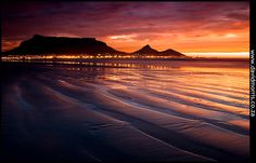 Table Mountain Sunset by David Morris, via 500px